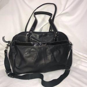 Coach   Leather Diaper Bag